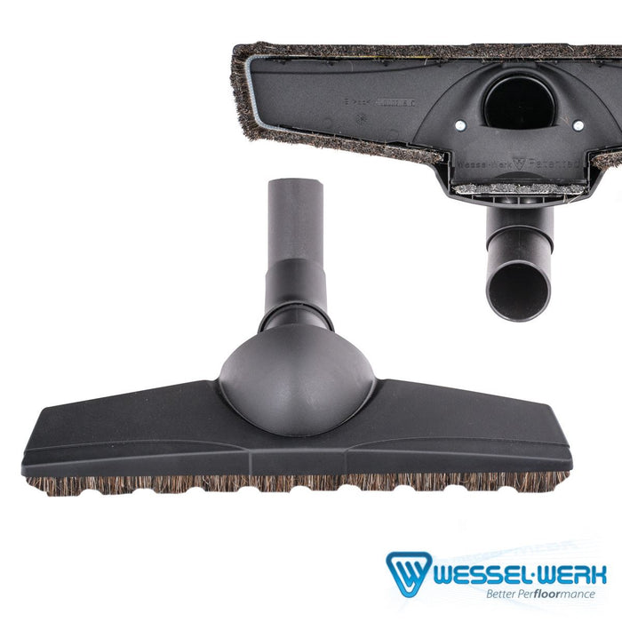 TF110B FLOOR BRUSH WESSEL WERK D330 TURN AMP; CLEAN DOUBLE SWIVEL