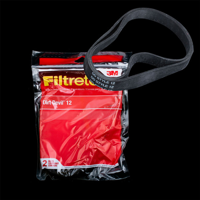 65012 DIRT DEVIL 12 BELT 3M FILTRETE