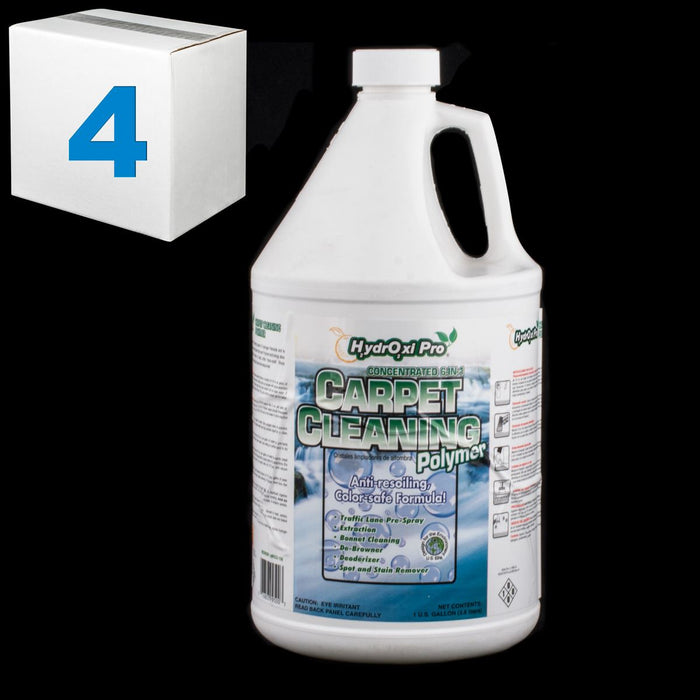 SJ140CS-4 CORE HYDROXI PRO CARPET CLEANING POLYMER GALLON - PACK OF 4