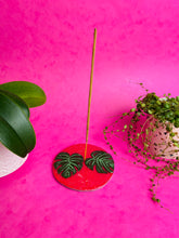 Load image into Gallery viewer, Botanical incense stick holders.