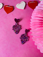 Load image into Gallery viewer, Love potion number 9 earrings VDAY collection.