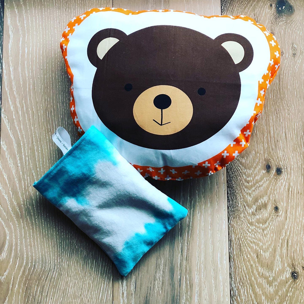Kids Set // Bear pillow + relaxing pad