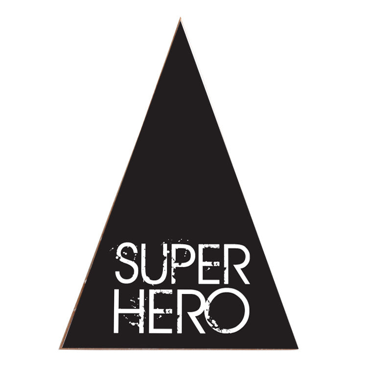 Tipi Superhero Black small/large