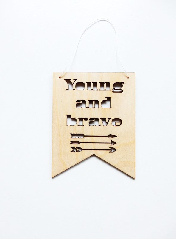 Hanger Young and Brave