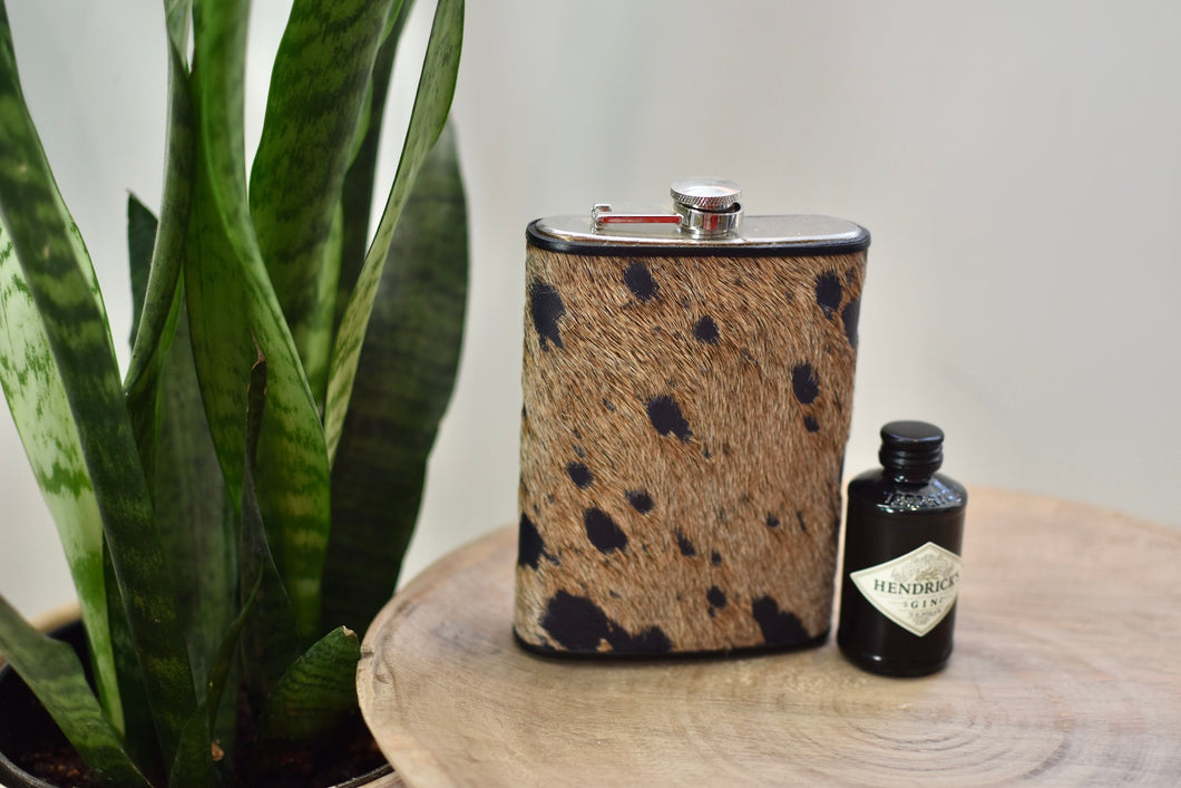 Brown Acid Wash 12oz Flask