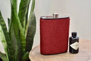 Red 12oz Flask