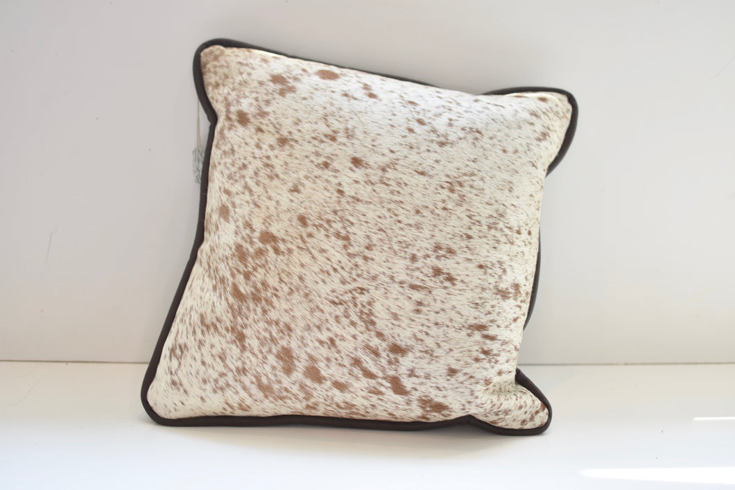 Cream and Tan Pillow