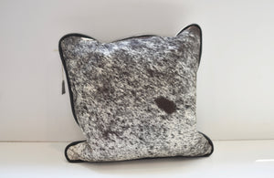 Black and White Brindle Pillow