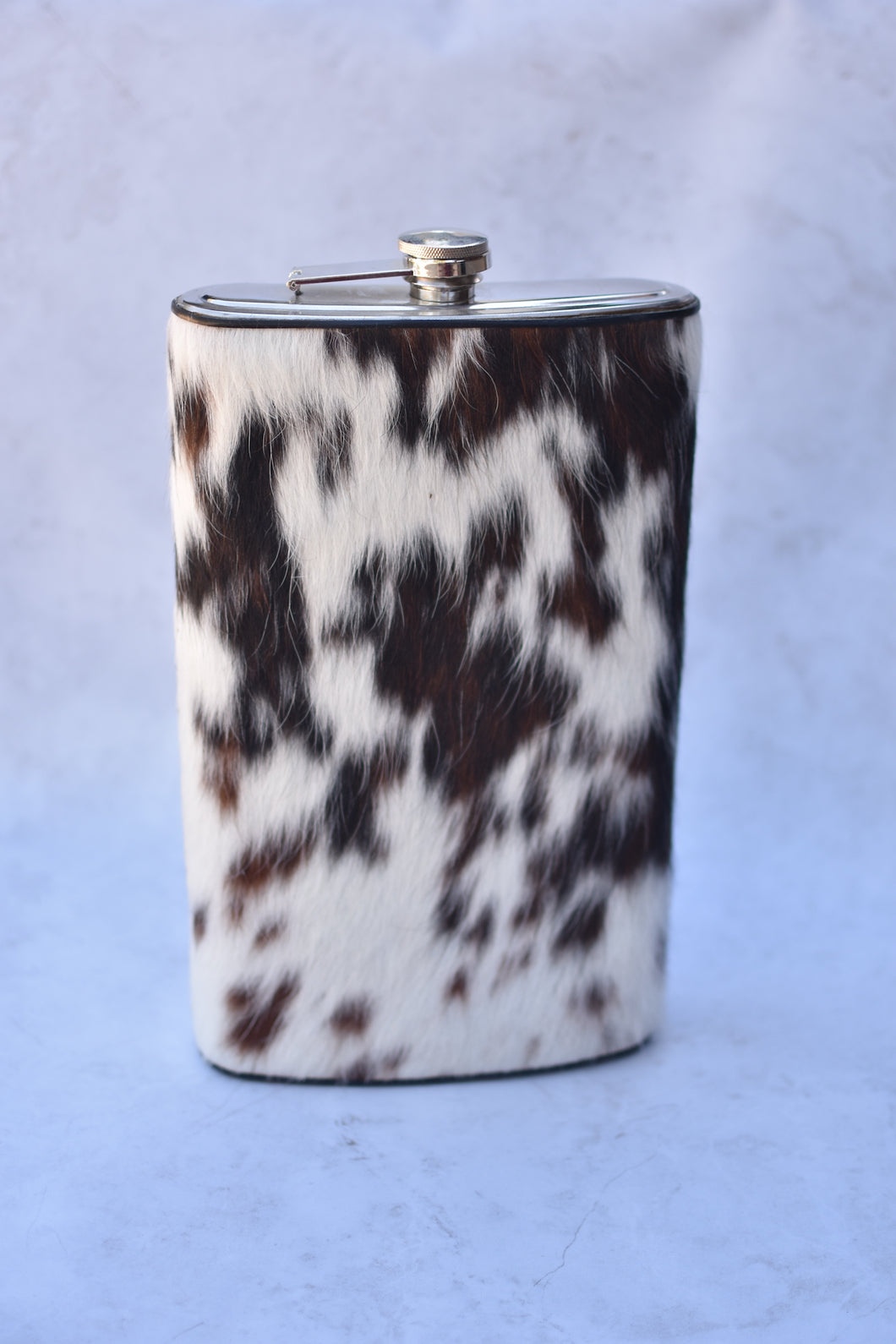 White and Brown Gallon Flask