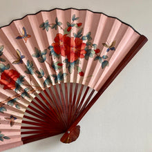 Load image into Gallery viewer, Pink Vintage Wall Fan