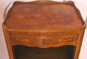 Marquetry Bedside Table (Coming Soon)