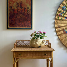 Load image into Gallery viewer, Bamboo & Rattan Desk