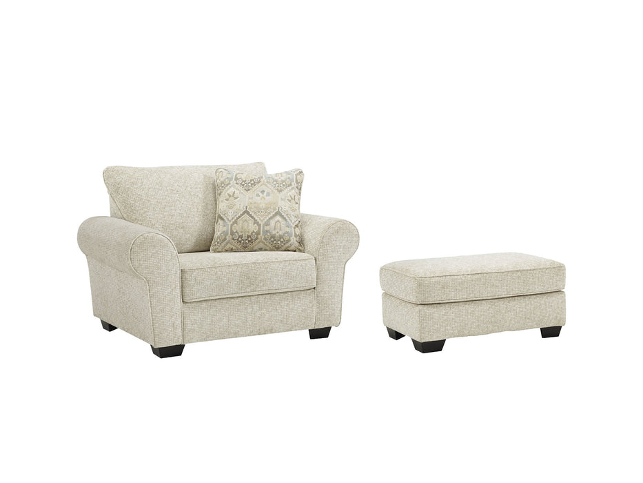 Haisley Benchcraft 2-Piece Chair & Ottoman Set image