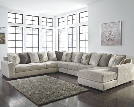 Ardsley Benchcraft 5-Piece Sectional with Chaise image