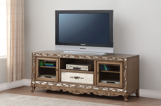 Orianne Antique Gold TV Stand image