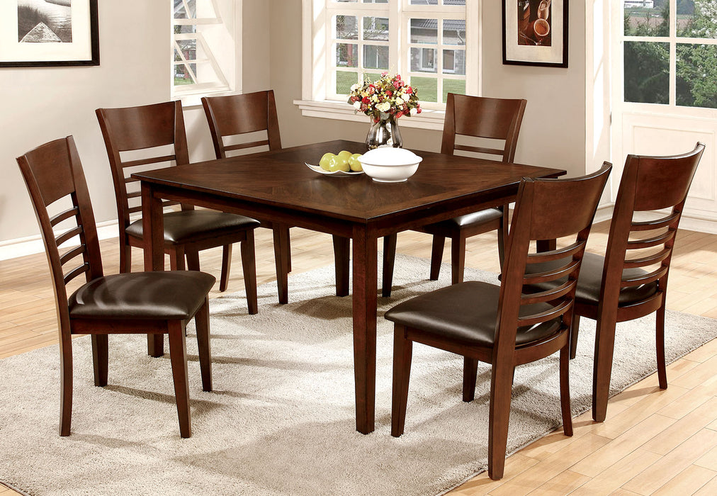 "HILLSVIEW I Gray 7 Pc. 48"" Dining Table Set"