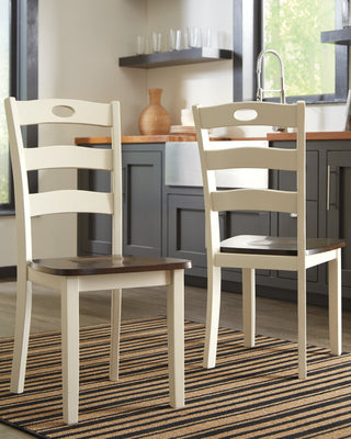 Woodanville Signature Design by Ashley Dining Chair Set of 2