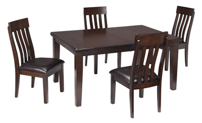Haddigan Signature Design 5-Piece Dining Room Set