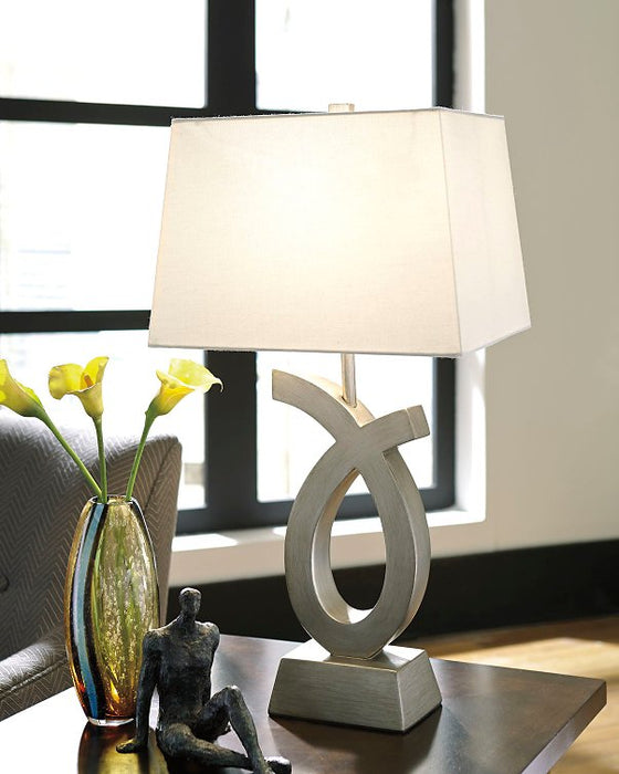 Amayeta Signature Design by Ashley Table Lamp Set of 2 image