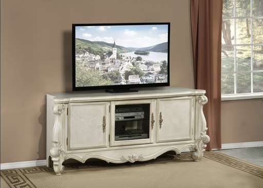 Versailles Bone White TV Stand image