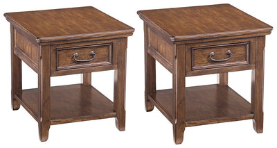 Woodboro Signature Design 2-Piece End Table Set