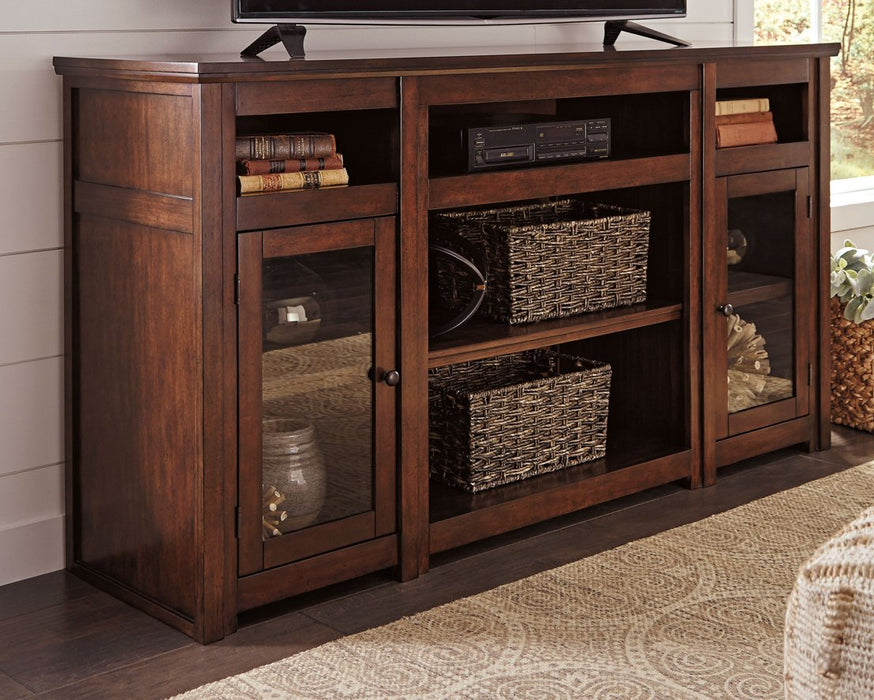 Harpan Signature Design by Ashley TV Stand image