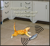 Flopping Fish Cat Toy - They LOVE This!