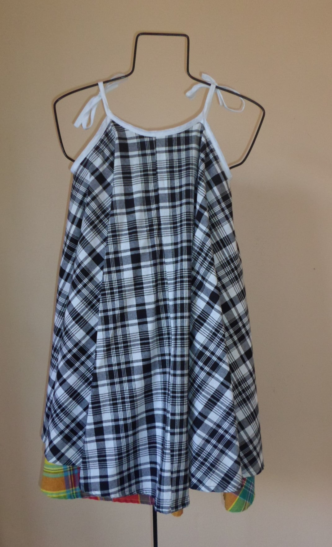 Madras Blend Sundress