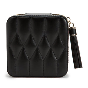 CAROLINE ZIP TRAVEL CASE/ BLACK
