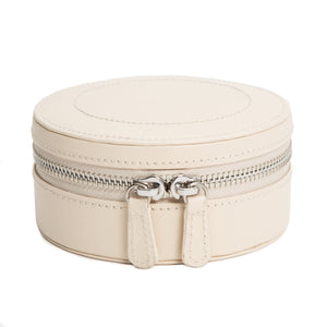 SOPHIA MINI ZIP CASE/ IVORY