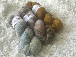 3 Skein Kit - Fair Maid, Cove, Manuka - Bear Sturdy - Sport