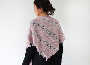 Learning to Cry Knit Kit - Smoke