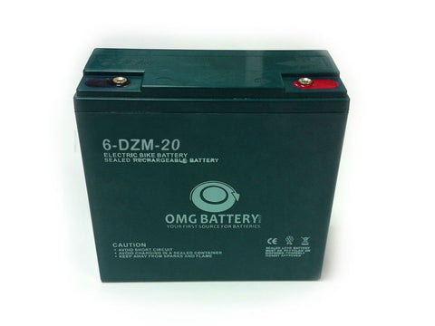 SEALED LEAD-ACID - BATTERY 12V-20AH