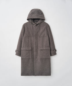 SHAGGY DUFFEL COAT