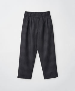 3TUCK TAPERED CROPPED PANTS