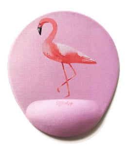 Flamingo Cotton Candy Bilek Destekli Mouse pad