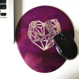 Fushia Love Visco Bel Yastığı Mouse pad Kupa 3'lü Set