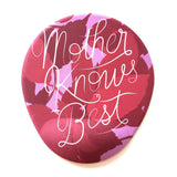 Mother Knows Best Kupa Bardakaltı Mousepad 3'lü set