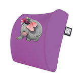 An Elephant Bee Visco Bel Yastığı Mouse pad Kupa 3'lü Set - Lila
