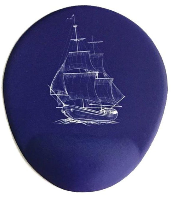 Sailing Away Bilek Destekli Mouse pad - Lacivert