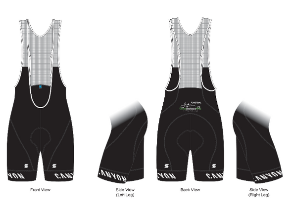 2020 Ride SB 100 Event Women's Bib Shorts