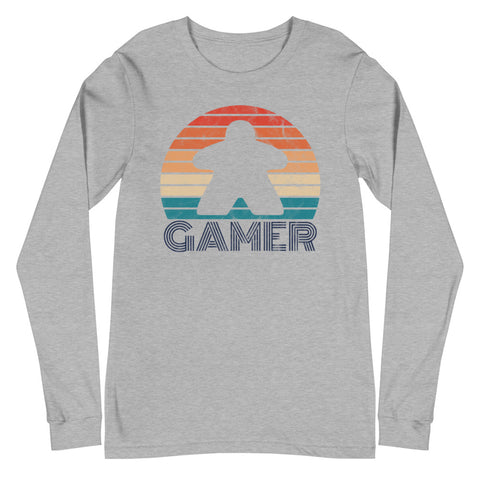 Gamer Long Sleeve (blue letters)