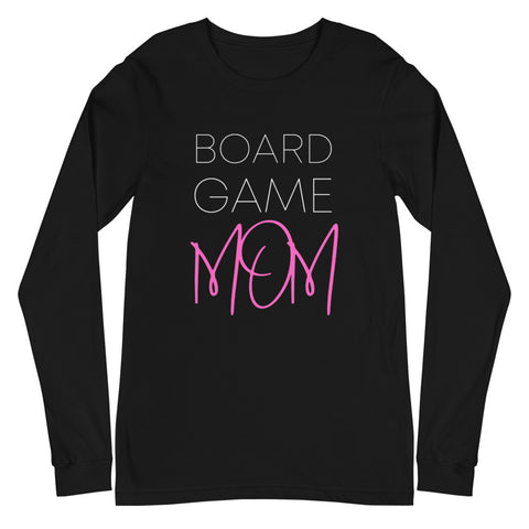Board Game Mom Long Sleeve Pink
