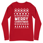 Merry Christmas Long Sleeve (Meeple)