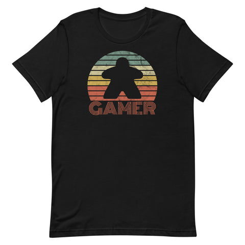 Gamer T-Shirt (orange letters)