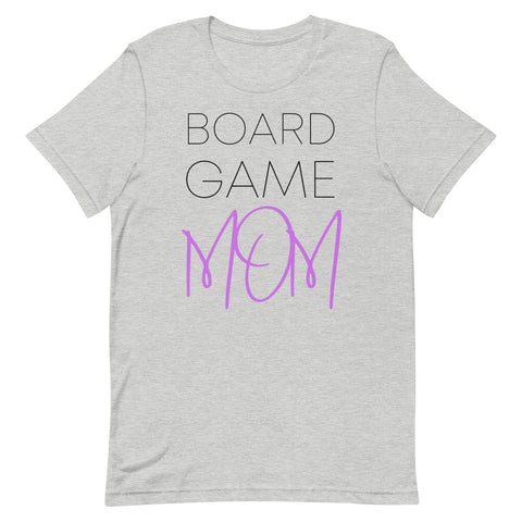 Board Game Mom T-Shirt (Purple)