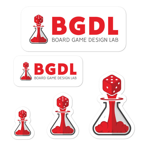 Board Game Design Lab Stickers