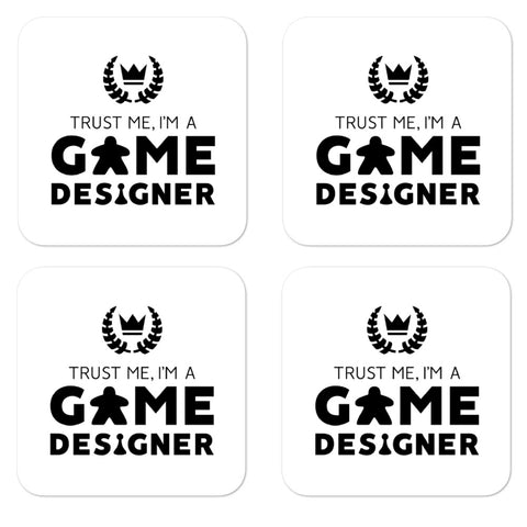 Trust Me, I'm A Game Designer Stickers (4 Light)