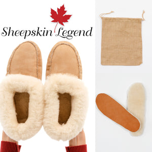 Sheepskin Slippers Promotion