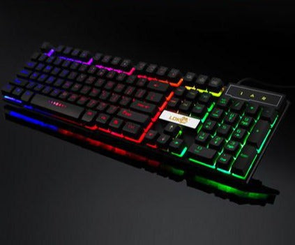 Industry gaming keyboard glowing usb cable gaming keyboard - bestgamingandoffice